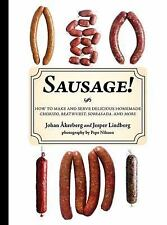 Sausage! Book~Making Delicious Chorizo~Bratwurst~Sobrasad~More~Recipes~NEW