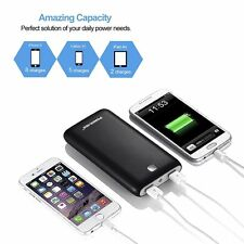 Poweradd X7 20000mAh 2 USB Power Bank External Battery Charger for Cell Phone