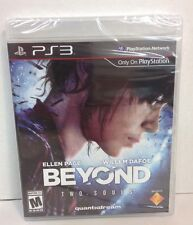 PS3 Beyond: Two Souls - BRAND NEW FACTORY SEALED (Ellen Page - Willem Dafoe)