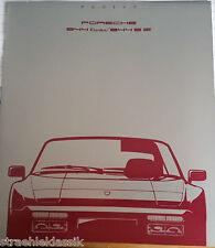 Liste de prix porsche 944 turbo 944 s2 valide à partir de modèles 01.08.1989 témoignages 10521190