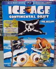 Ice Age: Continental Drift, Blu-ray, DVD, Canadian Digital Download