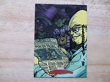 2008 MARVEL MASTERPIECES EGGHEAD CARD SIGNED ERIC CANETE ART