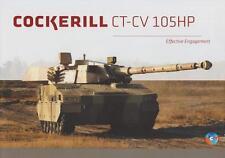 COCKERILL CT-CV 105 HP 2015 TURRETS MILITARY BROCHURE PROSPEKT FOLDER