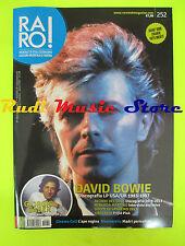 rivista RARO 252/2013  Inserto Luciano Ligabue David Bowie Giorgio Gaber No cd