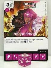 DC Dice Masters - #043 Fatality Yrra Cynril - War of Light