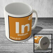 MUG_ELEM_074 (49) Indium - In - Science Mug