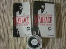 PSP SCARFACE MONEY, POWER, RESPECT USADO BUEN ESTADO