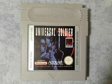 UNIVERSAL SOLDIER - NINTENDO GAME BOY, COLOR GBC, ADVANCE GBA - PAL ESP - LOOSE
