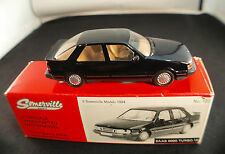 SOMERVILLE MODELS GB n° 122 SAAB 9000 TURBO 16 1985 rare 1:43 neuf en boite MIB