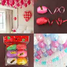 6 color 5mm10m Colorful Balloon Ribbon Rope Flower Wedding Party Supplies
