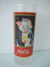 COCA COLA® VERRE GIVRE COUPLE REFRIGERATEUR DRINK COCA COLA H 17.5 CM N° 884