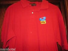 WALT DISNEY WORLD CAST ASK ME ABOUT TICKETS LOGO CASTMEMBER POLO SHIRT LARGE