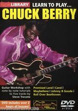 LICK LIBRARY Learn to Play CHUCK BERRY Gitarre Tutor DVD Johnny B. Goode