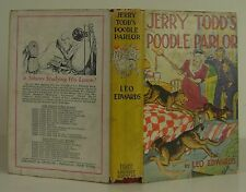 LEO EDWARDS Jerry Todd's Poodle Parlor FIRST EDITION