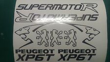 Peugeot XP6T Custom Decals/Stickers ALL COLOURS AVAILABLE