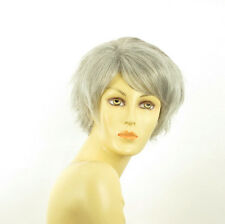 short wig for women smooth gray ref: ROMANE 51 PERUK