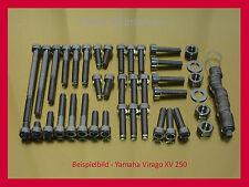 Yamaha Virago XV250 / XV 250 -  Schrauben Edelstahl Motorschrauben Schraubensatz