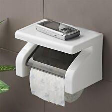 Wall Mounted Plastic Waterproof Toilet Roll Paper Box Holder Bathroom Tool 5Y