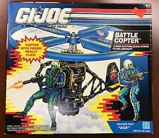 1991 GI JOE BATTLE COPTER W/ACE PILOT MISB
