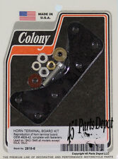 Harley All 42-46 except WLA WLC Horn Terminal Board Kit Colony 2819-8