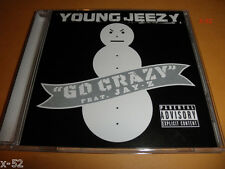 YOUNG JEEZY single GO CRAZY cd Featuring JAY-Z