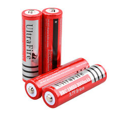 4 x BRC 3.7V 3000mAH Rechargeable Li-ion Lithium 18650 Battery For LED Torc