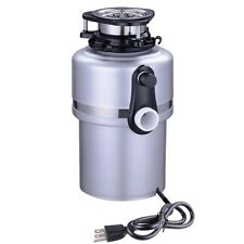 Kitchen 3/4HP Continuous Feed Food Waste Disposer Home Garbage Disposal 420