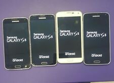 lot of 4 Samsung Galaxy S5 T-mobile , SPRINT, BOOST