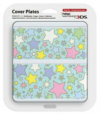 NEW Nintendo 3DS Cover Plates Kisekae plate No.064 colorful star Free Shipping