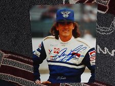 "10"" x 8"" HAND SIGNED PHOTO - ARIE LUYENDYK - INDYCAR"
