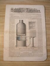 SA-9/30 1865- Thomas C. Theaker- Soda Water- Atlantic Cable- Dental Apparatus