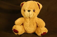 "Brown Teddy Bear Applause 1986 7"" Vintage Plush Stuffed Animal Lovey"