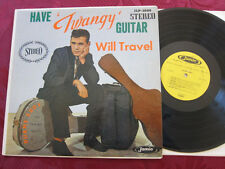DUANE EDDY Have Twangy Guitar will Travel STEREO lp