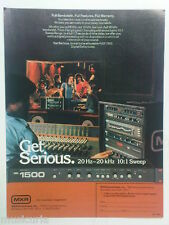 retro magazine advert 1984 MXR DELAY 1500
