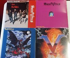 SAINT VITUS - VINYL LP LOT SALE!!!  + PATCH+CD+STICKER
