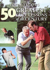 Good, 50 Greatest Golf Lessons of the Century, Jacobs, John, Book