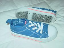 OP OCEAN PACIFIC CANVAS BLUE WHITE BABY TODDLER KID CHILD 7 RUNNING SNEAKER SHOE