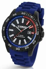 TW Steel Yamaha Factory Racing 40mm Blue Strap Watch Y1