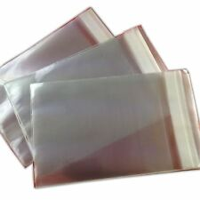 250 C6 Bags for Cards / Clear Cello Cellophane Card Bag 120mm x 167mm