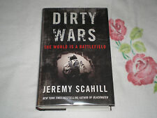 Dirty Wars : The World Is a Battlefield by Jeremy Scahill   *Signed*  -JA-