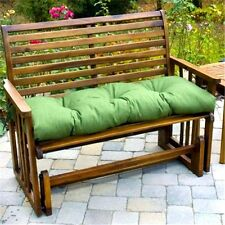 Porch Swing Cushion Glider Bench Seat Padding 52 in. Tufted Indoor Outdoor Patio