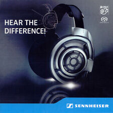 STOCKFISCH | Sennheiser HD 800 - Here The Difference SACD NEU
