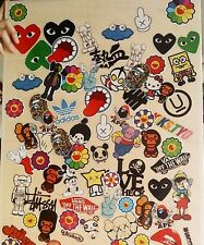 Pack of 10 Mixed Random Stickers for laptop mac iphone ipad ipod guitar console