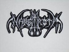 NARGAROTH BLACK METAL IRON ON EMBROIDERED PATCH