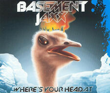 Basement Jaxx - Where's Your Head at - 6 track CD single - like new