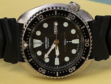 Vintage  Scuba Diver's Watch ,Turtle Case 6309-7040   150m   s#911944