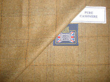 Kiton 100%CASHMERE JACKETING FABRIC MADE IN SCOTLAND EXPRESSLY FOR KITON - 2.0 m