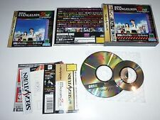 Neon Genesis Evagelion 2nd-  Sega Saturn Jap Japan (SpinCard) GS-9129