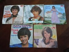 "IREEN SHEER 5 x  7""  GERMAN Singles Sammlung"
