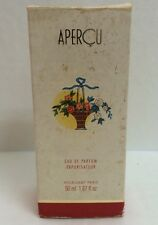 Apercu By Houbigant Women Parfum EDP Spray 1.7 fl oz / 50ml  NIB SAME AS PICS